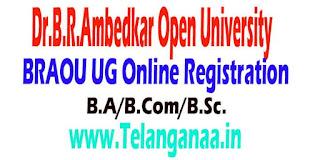 Dr.B.R.Ambedkar Open University (BRAOU)Eligibility Test B.A/B.Com/B.Sc. UG Online Registration