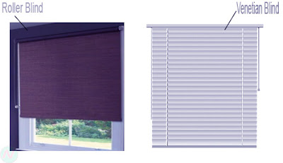 Blind, blind window
