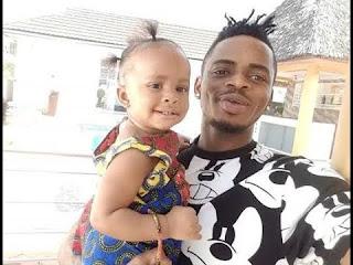Ujumbe wa Diamond katika Birthday ya mwanae Tiffah