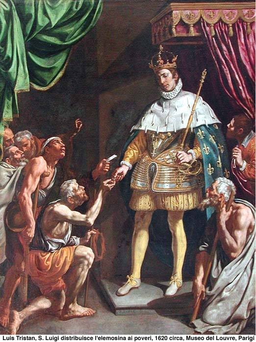 AUGUST 25 - Louis IX, King and Patron Saint of the Franciscan Third Order