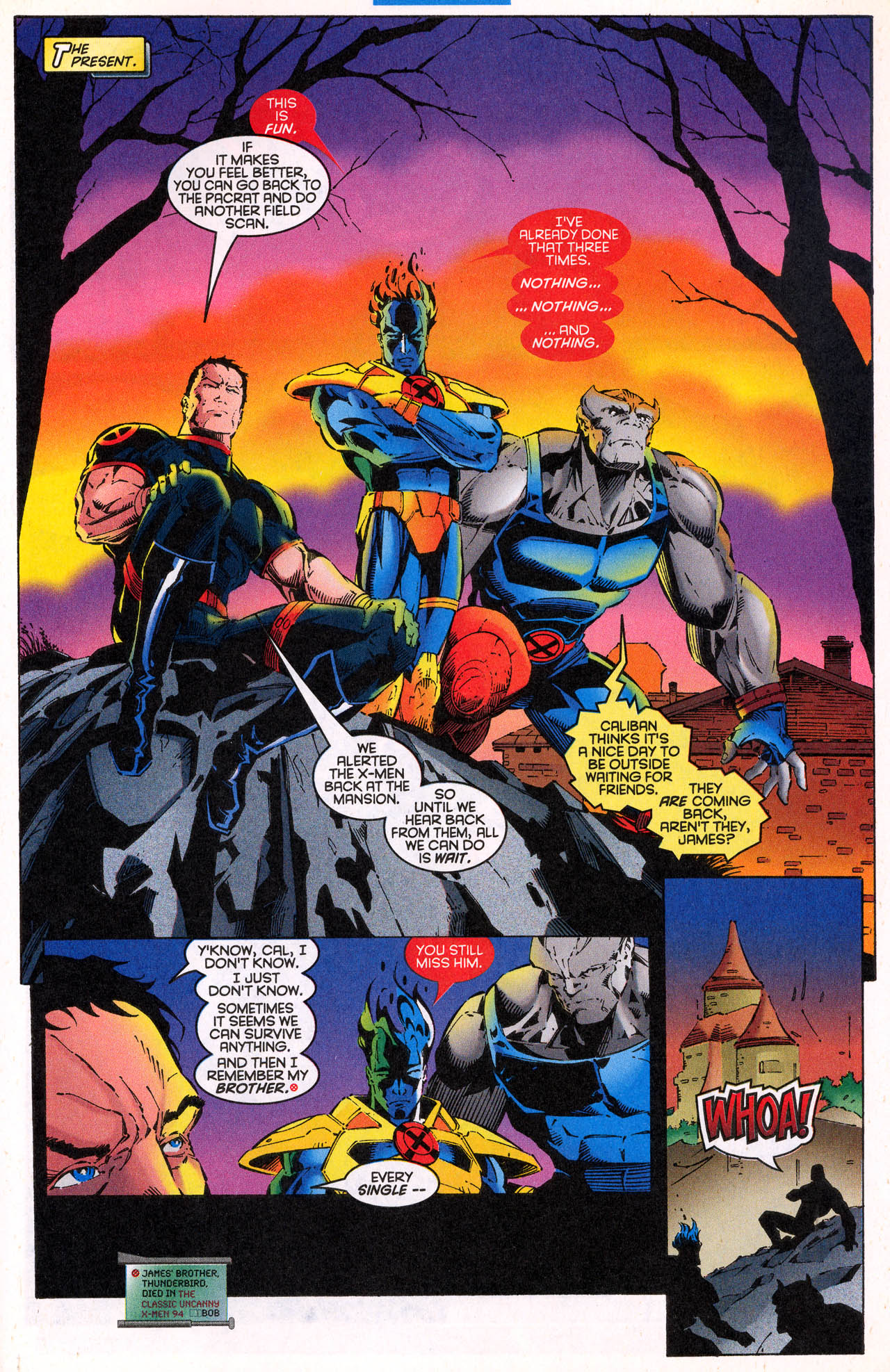 Read online X-Force (1991) comic -  Issue #64 - 33