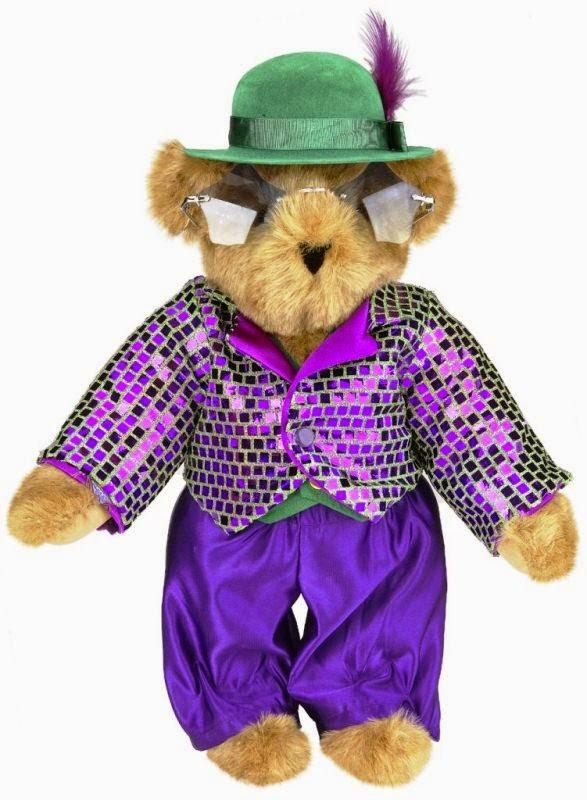 Download boneka beruang pakai kacamata keren banget
