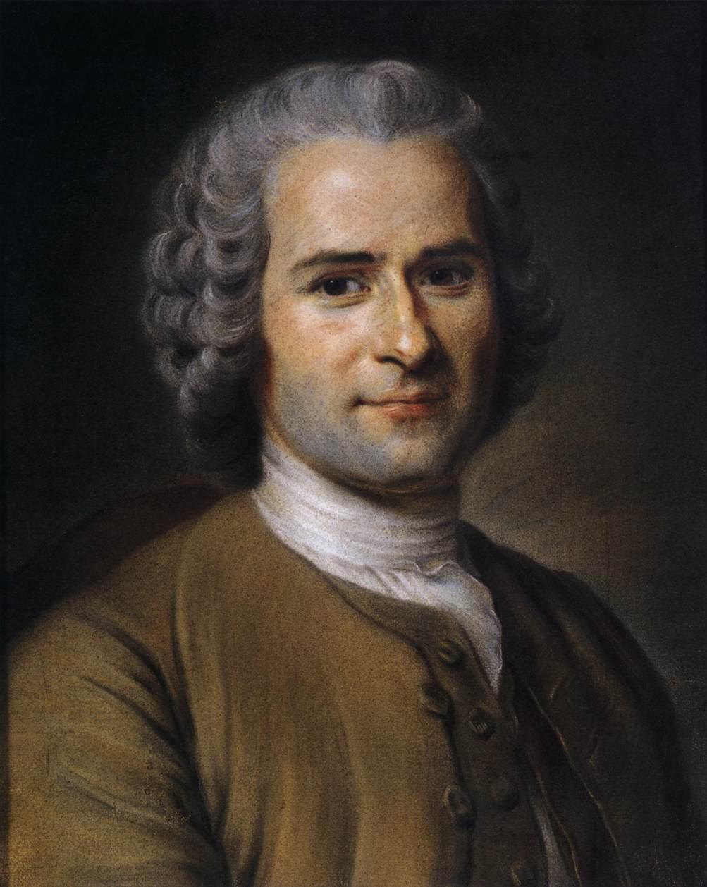 Jean Jacques Rousseau 1712 1778 Derecho Constitucional