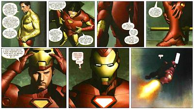 """Reseña de """"Marvel Integral. Iron Man: Extremis"""" de Warren Ellis y Adri Granov."""