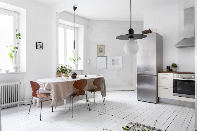 Amazing style of scandinavian interior