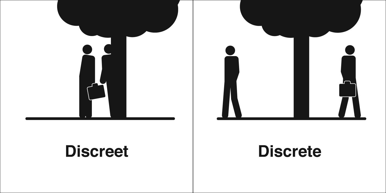 to be discreet ile ilgili görsel sonucu