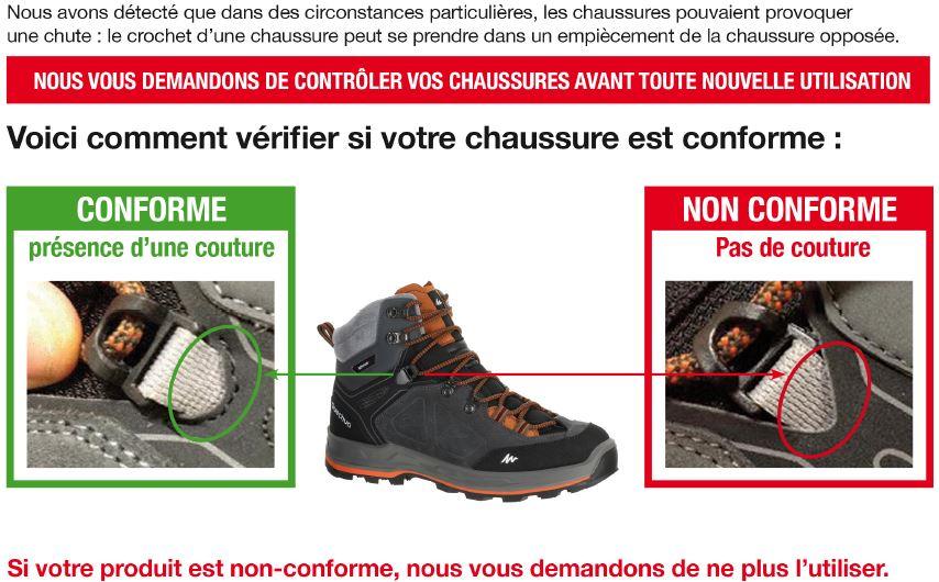 La Test Forclaz Vaut Randonnée MatosQue De Hight Chaussure 500 bgyvYfI76m