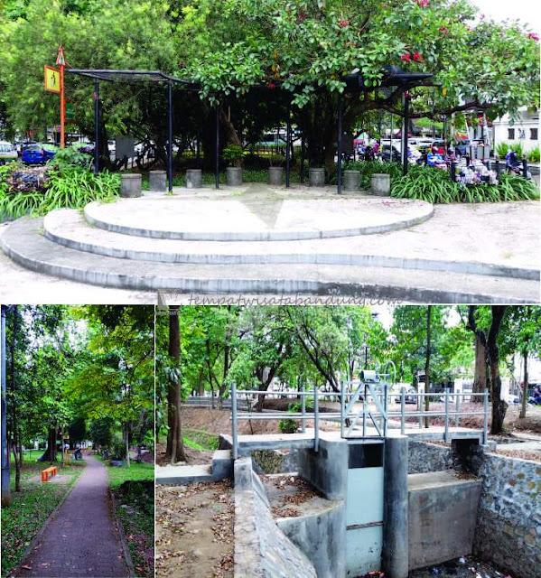 Taman Pustaka Bunga Cilaki Surga Bunga Kota Bandung