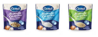 Camil lança Arroz Minuto Caseiro: pronto em até um minuto e com sabor de feito em casa