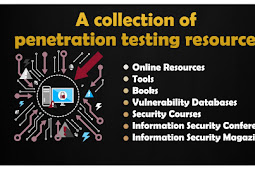 A collection of awesome penetration testing resources