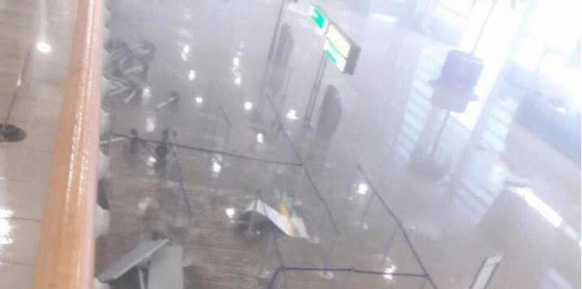 El huracán Irma destroza el Aeropuerto de San Martín