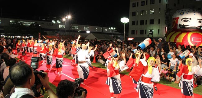 Quote. The Mihara Yassa Festival Is Held In Front Of Mihara Station Over A  Three Day Period Each Summer. This Festival, In Which A Great Many Revelers  Enjoy ...