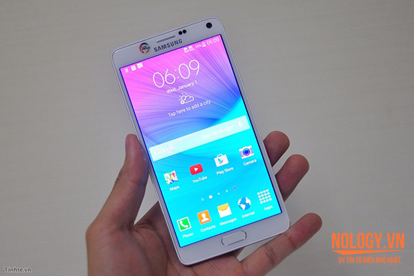 Lý do nên chọn mua Samsung Galaxy Note 4 cũ 2 sim