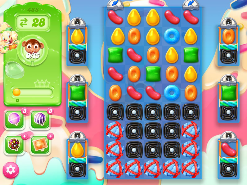 Candy Crush Jelly Saga 488