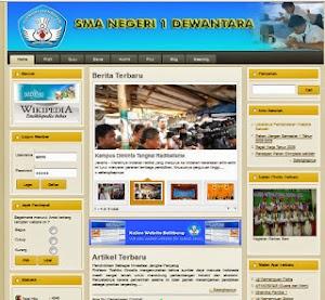 Sistem Informasi Website Sekolah Dengan Menggunakan PHP Mysql