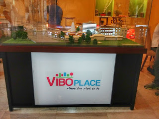 model layout of VIBO Place Cebu