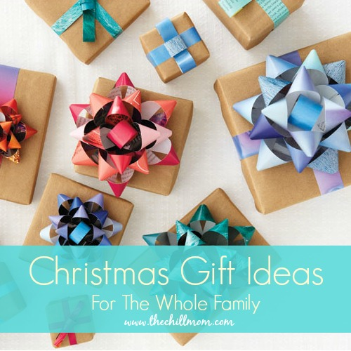 Christmas gift ideas for the entire family