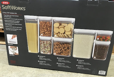Oxo SoftWorks 8 piece Pop Container Set - great for organizing your pantry
