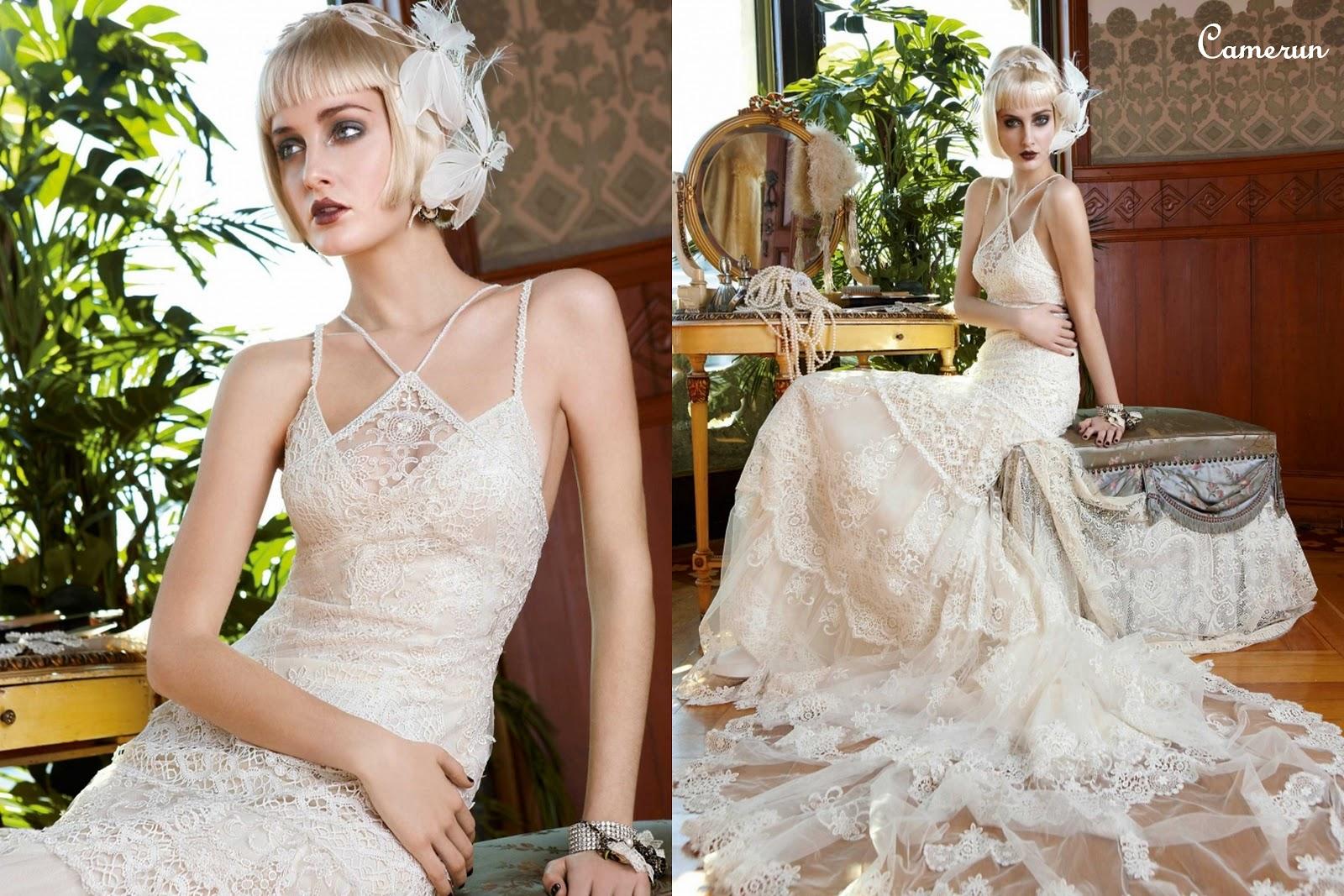 Vintage Bridal Wear by YolanCris - Girl Fashion Style