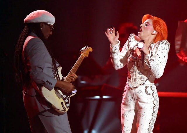 Nile Rodgers y Lady Gaga