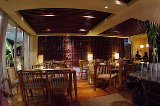 An attractive and cosy atmosphere