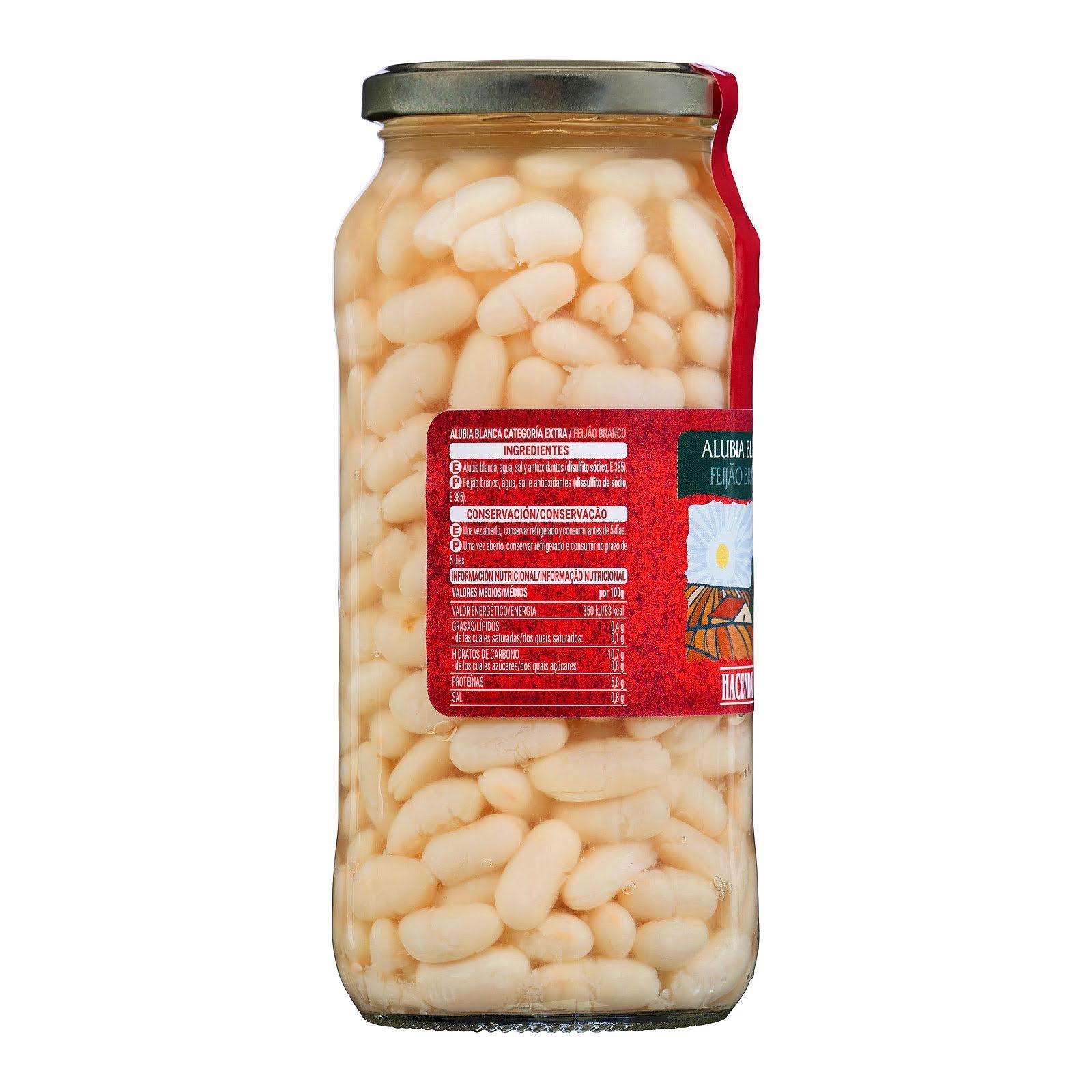 Alubia cocida blanca Hacendado
