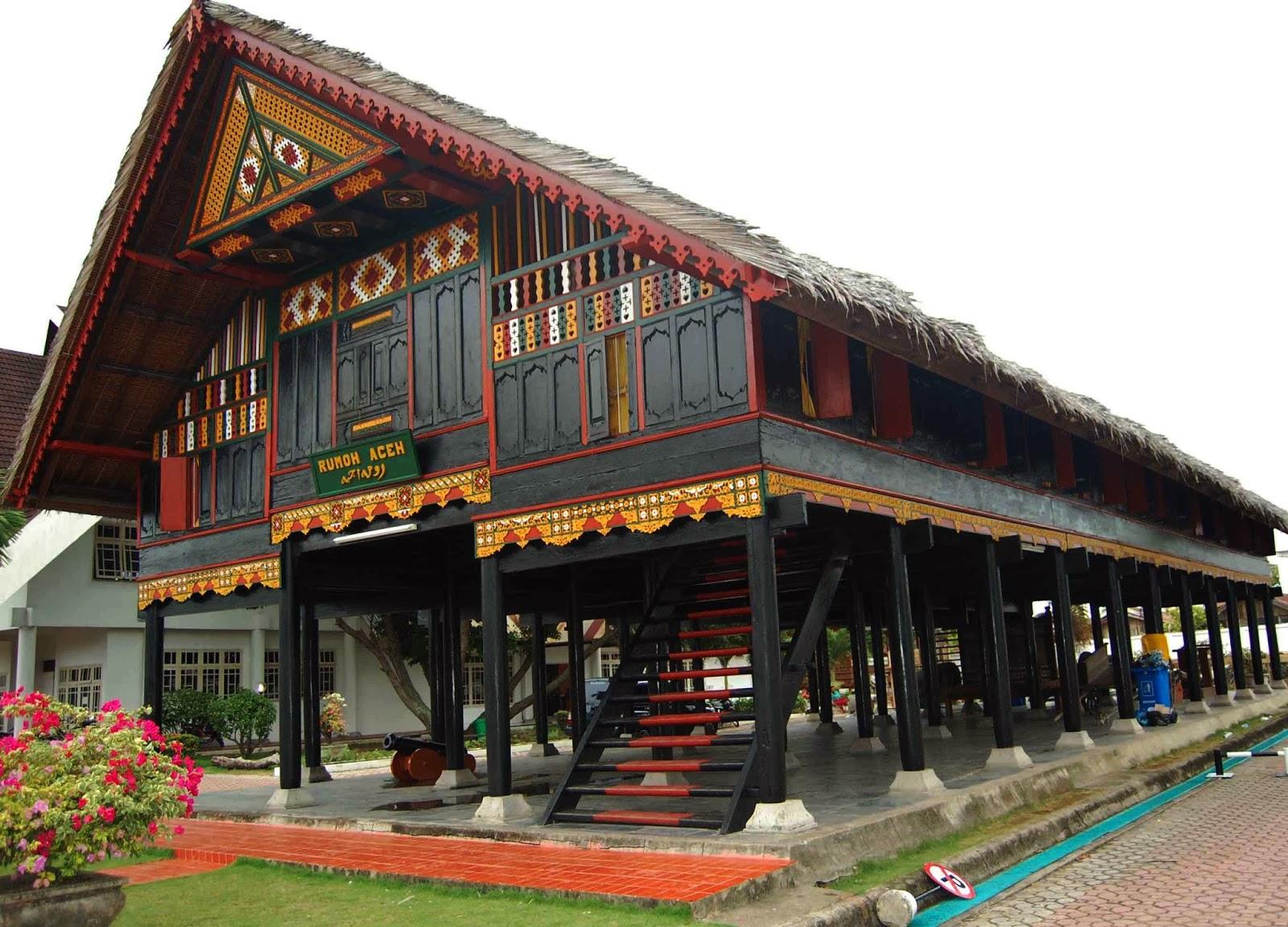 Keunikan Rumah Adat Aceh  Garis Desain