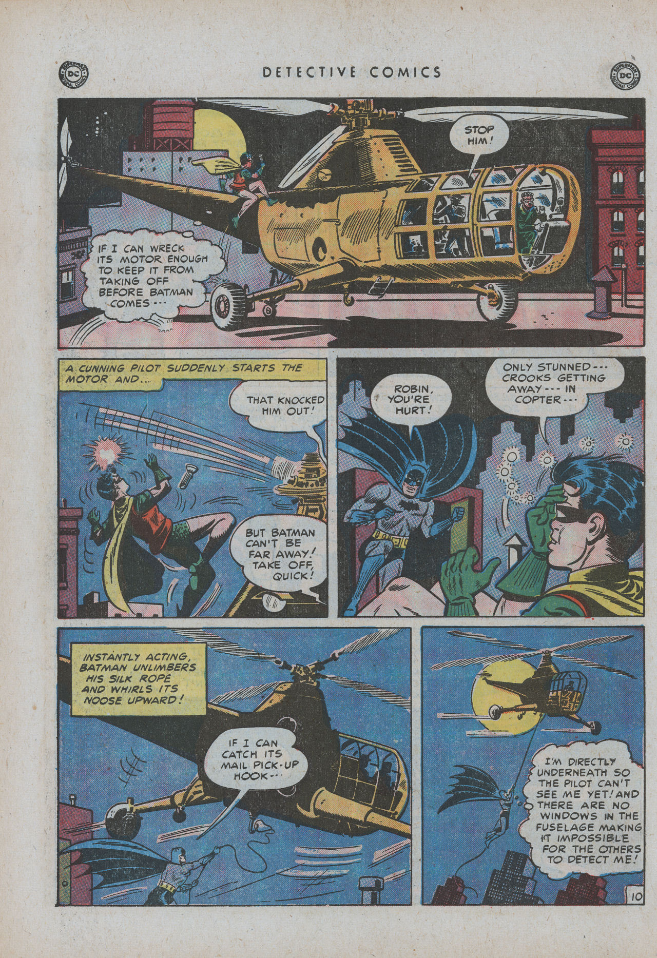 Read online Detective Comics (1937) comic -  Issue #154 - 12