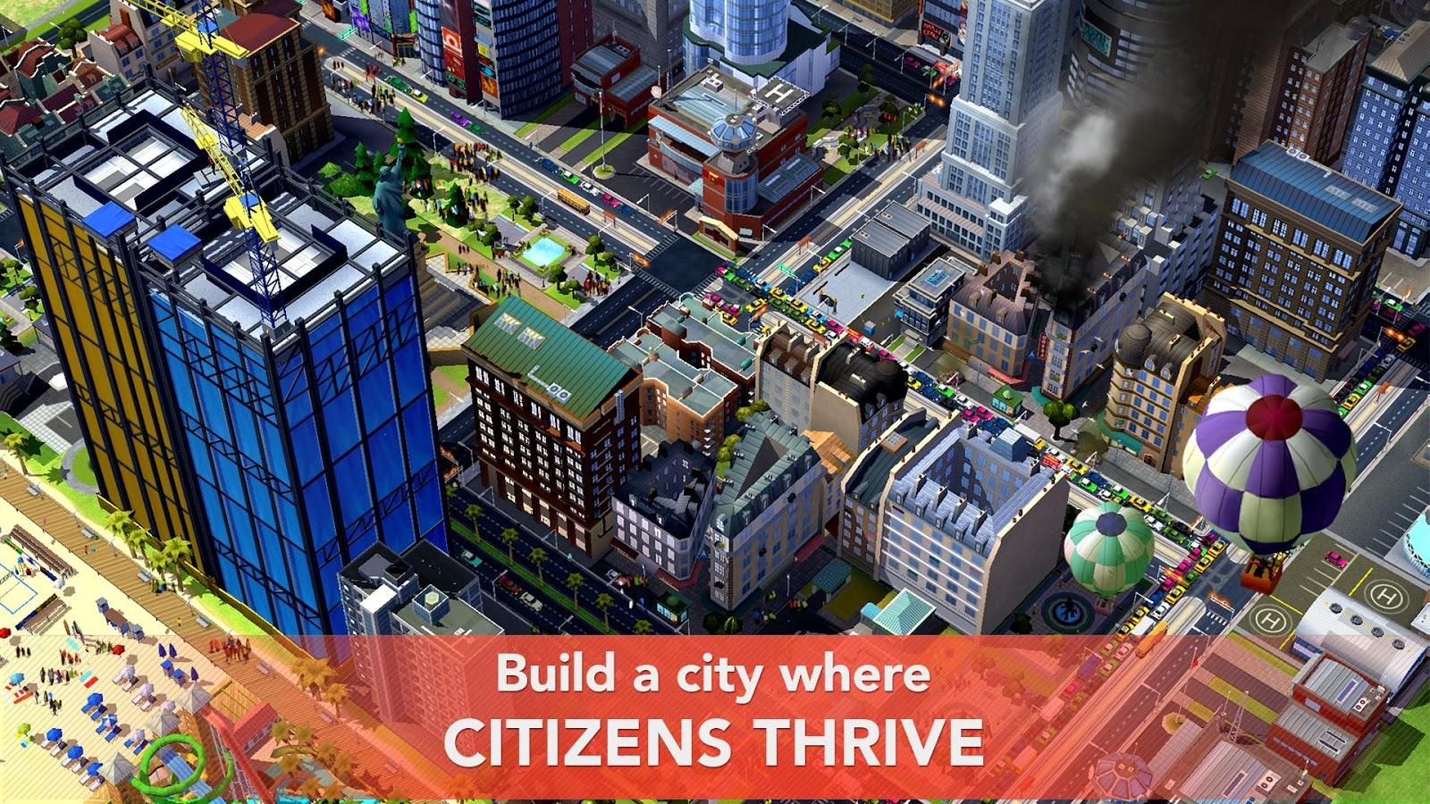 Sim City Buildlt Mod Apk