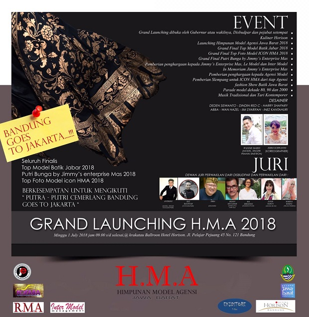 "Revi Lantika akan Gelar ""Grand Launching Himpunan Model Agensi 2018"""
