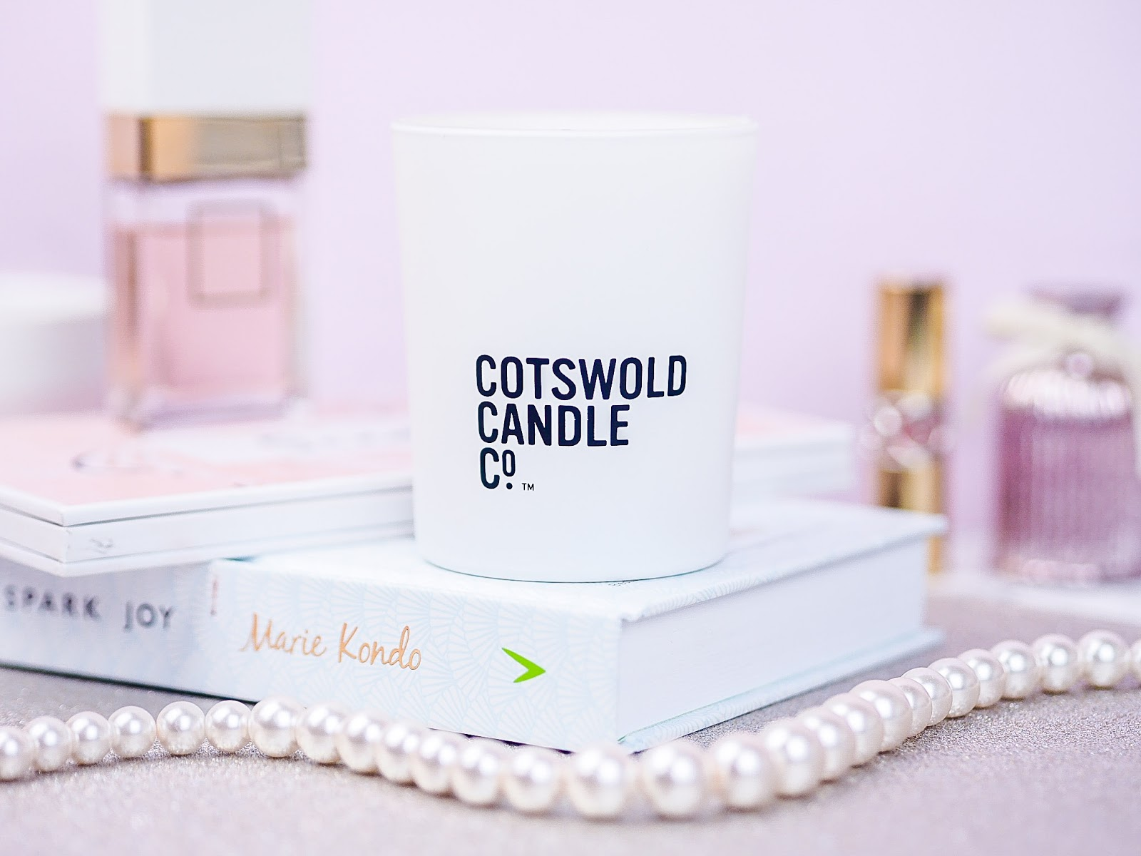 Cotswold Candle Co Lemon Leaf Rose