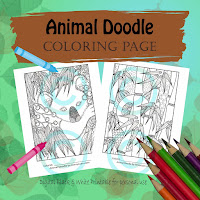 Animal Doodle Bear pack