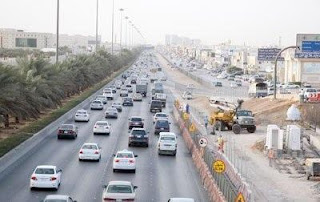 الحركة المرورية بمداخل الرياض.. طريق القصيم الأكثر كثافة بـ25 ألف سيارة
