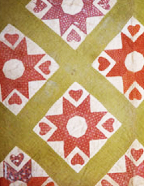 Civil War Quilts: Yankee Diary 7: Valentine For Noah