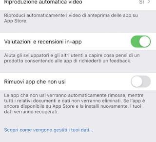 Elimina app automaticamente