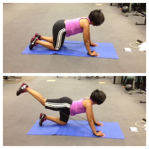 ReRouting Yourself: Rear Leg Extensions with Bands