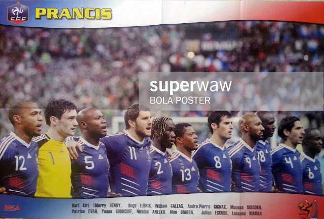 FRANCE TEAM SQUAD WORLD CUP 2010