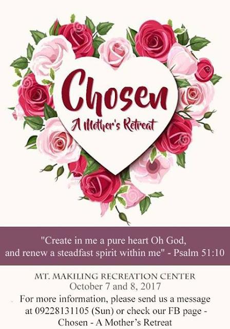 Chosen, A Mother's Retreat