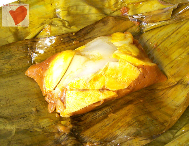 Tamales a famous Cavite Delicacy