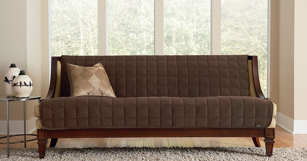 High Back High Arm Sofa Sure Fit Slipcovers: Deluxe Armless Furniture Covers