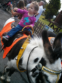 youngest on donkey