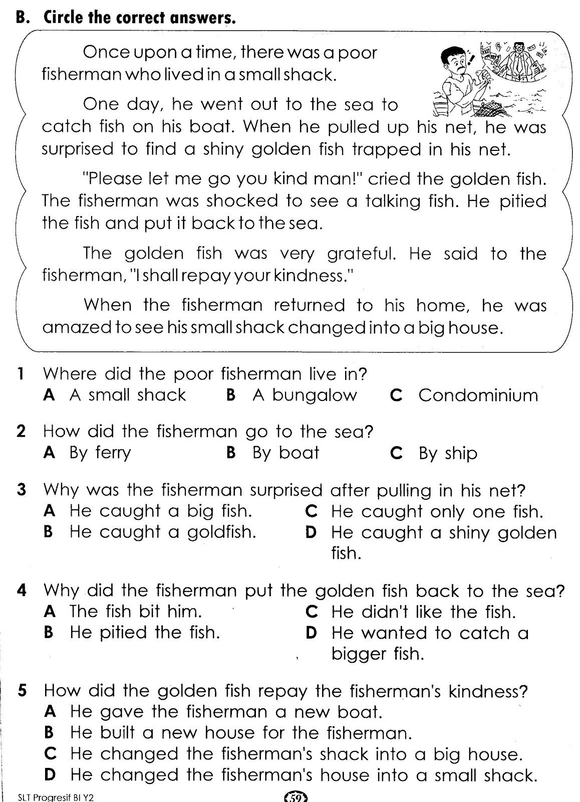 Short Writing Activity Year 5 English Test [ 1600 x 1158 Pixel ]