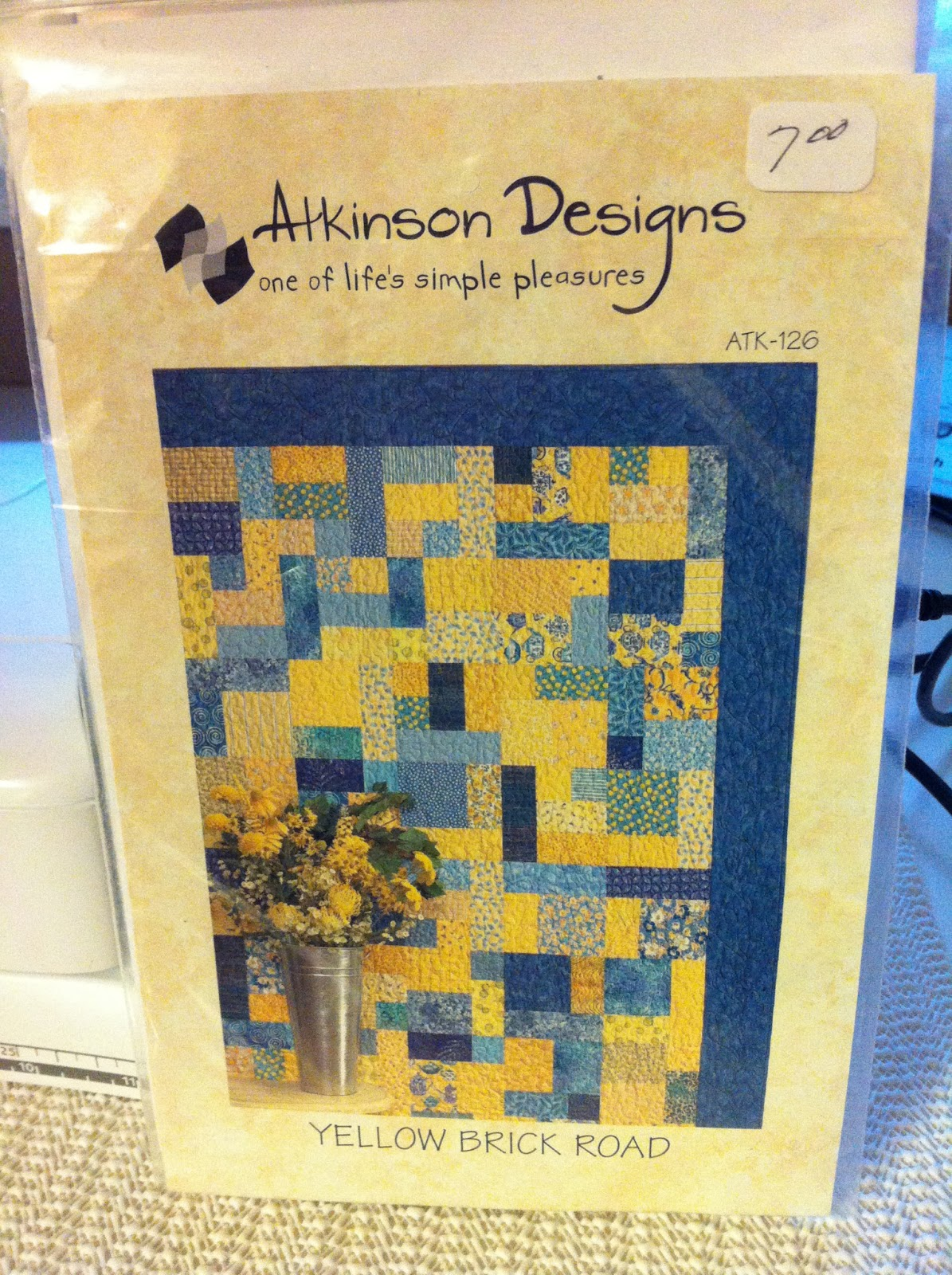 Yellow Brick Road Quilt Pattern Free Magnificent Ideas