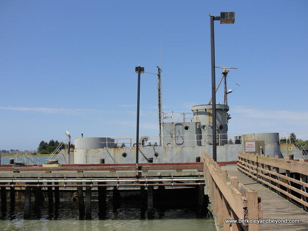 last operational WWII Landing Craft at Humboldt Bay Naval Sea/Air Museum in Eureka, California