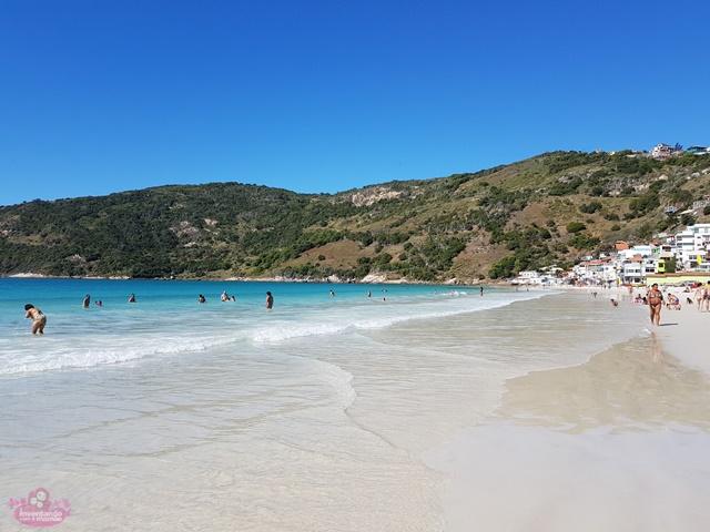 Melhores praias de Arraial do Cabo com crianças