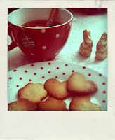 polaroid photo biscuits