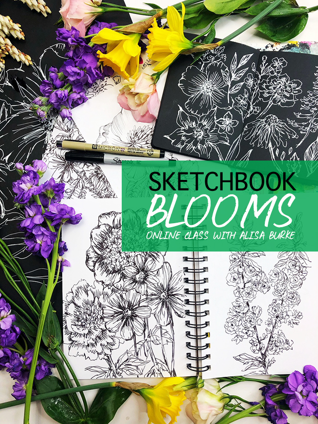 sketchbook bloom online class preview