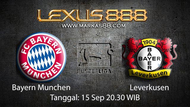 Prediksi Bola Jitu Bayern Munchen vs Leverkusen 15 September 2018 ( German Bundesliga )