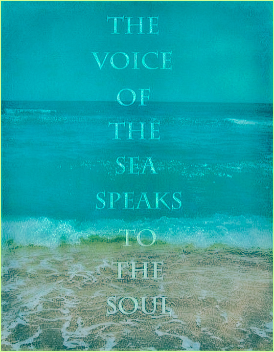 The Voice of The Sea Speaks to The Soul. #quotes #relatable #vibes #sea #soul #feelings