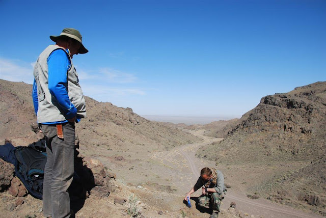 Stone Age camp sites found in the Gobi desert